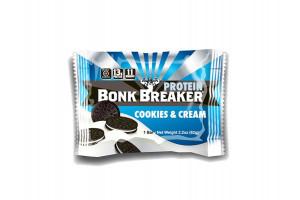 BONK BREAKER PROTEIN BAR COOKIES & CREAM